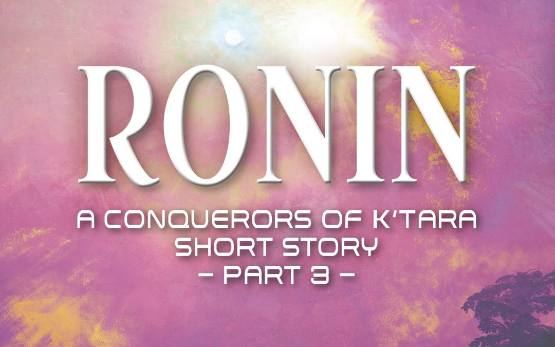 Ronin Part 3 just released!